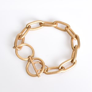 Medium Oval Chain Link Bracelet