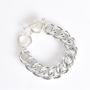 Aluminium Chain Linked Bracelet