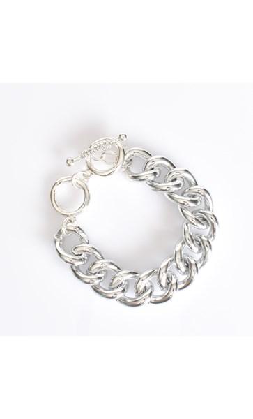 Aluminium Chain Linked Bracelet
