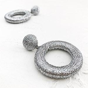 Sparkles Circles Stud Earrings