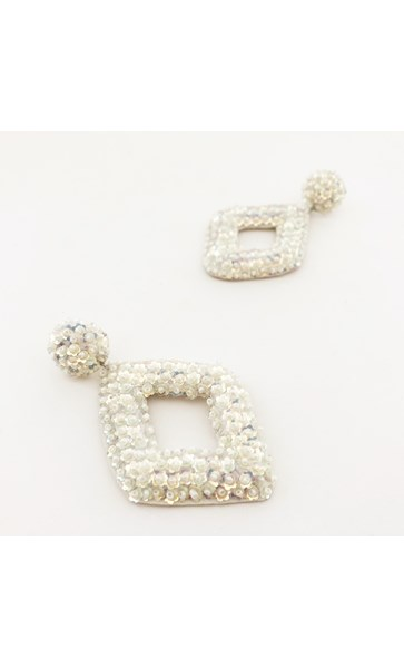 Diana Cut Out Jewelled Earrings