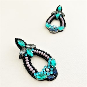 Jewelled Giovanna Earrings