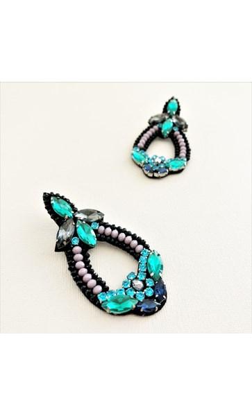 Jewelled Giovanna Earrings