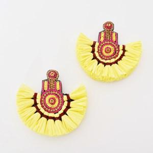 Roma Jewelled Fringe Earrings