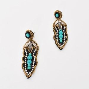 Goddess Jewelled Drop Earrings