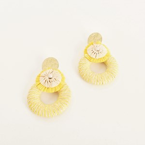 Daisy Girl Ring Drop Earrings