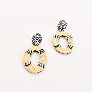 Tessa Twine Wrapped Earrings