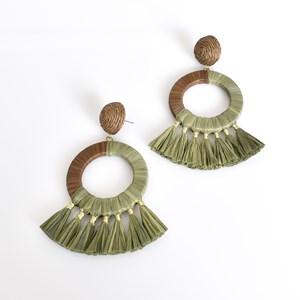 Stella Fringe Ring Earrings