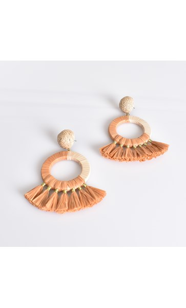 Stella Fringe Ring Earrings
