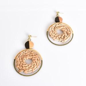 Crafty Weave Hook Earrings
