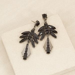 Jewelled Deco Vine Drop Earring