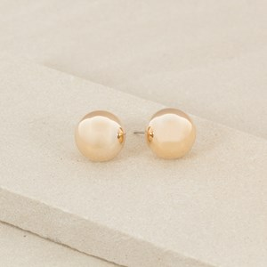 Large Ball Stud Earring