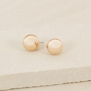 14mm Ball Stud Earring