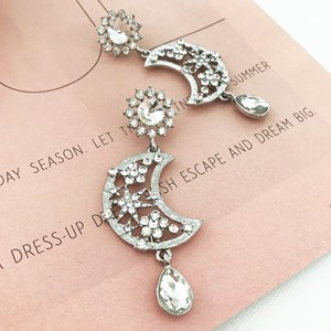 Moon Dreamer Jewelled Earrings