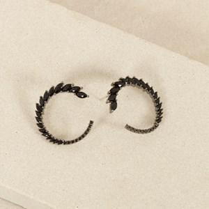 Wreath Jewel Stud Earrings