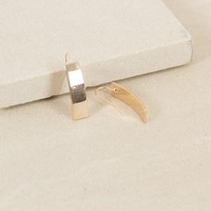 Simple Bar Hook Earrings