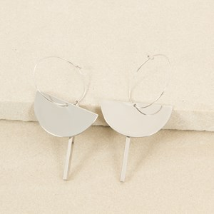 Satellite Hoop Earrings