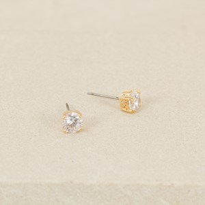 6mm Diamante Stud with Double Claws