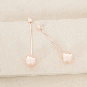 Long Ball Drop Earrings