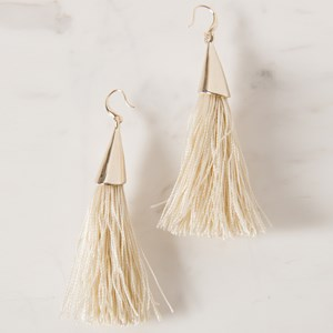 Cone Tassel Hook Earring