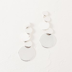 Layered Disk Earring