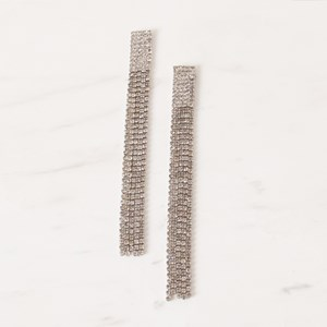 Diamante Statement Drops Earring