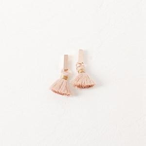 Mini Rod Mini Tassel Drop Earring