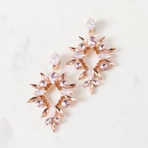 Jewelled Starburst Clip On Earring