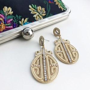 Oriental Statement Earrings