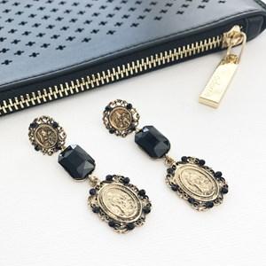 Saint Crystal Drop Earrings
