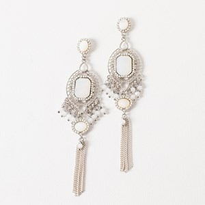 Statement Filigree Drop Earrings