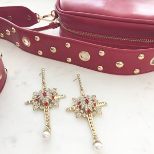Evangelista Cross Earrings