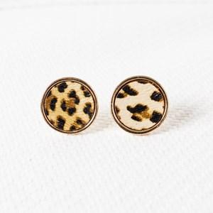 Animal Button Stud Earring