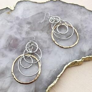 Ring Ring Hook Earrings