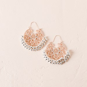 Tiny Balls Filigree Earrings