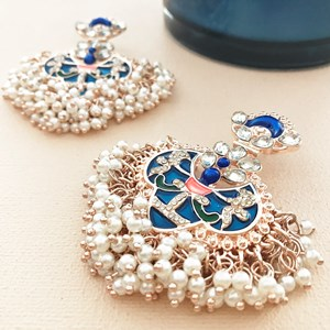 Victorian Princess Statement Earrings