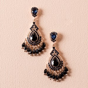 Diamante Crystal Drops Mini Earring