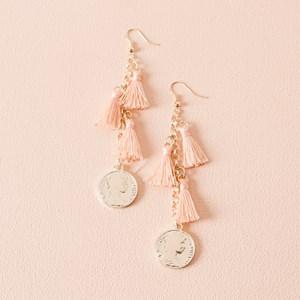 Tassels & Coin Drop Earrings