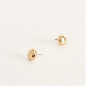 Everyday Button Stud Earrings