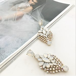 Jewelled Vienna Statement Earrings