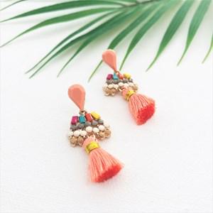 Viva Jewelled Tassel Earrings