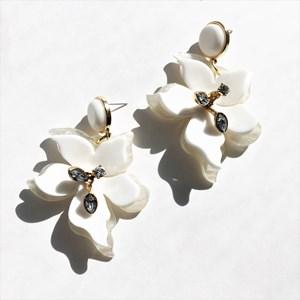 Blooming Resin Post Earrings