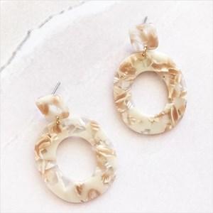 Shapes Resin Earrings