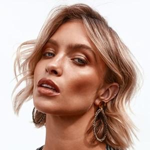 Teardrop Beaded Resin Top Earrings
