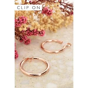 Mia Clip On Hoop Earring