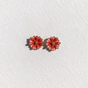 Mini Enamel Daisy Stud Earrings
