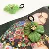 Resin Hibiscus Drop Earrings - pr_60138