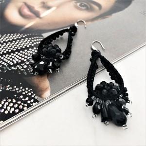 Crystal Crochet Drops Earrings