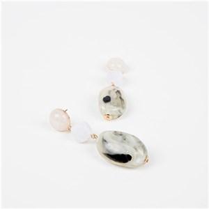 Trio Drops Resin Earrings