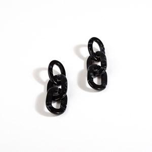 Aria Linked Resin Earrings